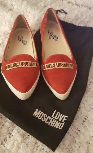 Love Moschino Pantoffels donkerrood