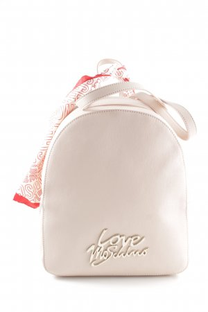 "Love Moschino Zaino per la scuola ""Logo Smooth Scarf Backpack Rosa"""