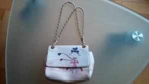 Love Moschino Shoulder Bag cream leather