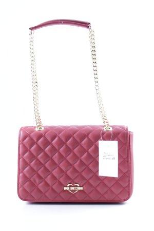 "Love Moschino Shoulder Bag ""Quilted Shoulder Bag Rosso"" red"