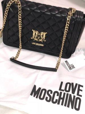 Love Moschino Bolso negro-color oro