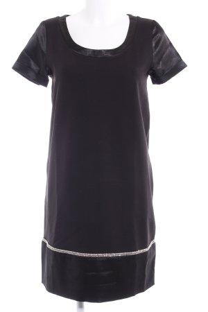 Love Moschino Vestido estilo camisa negro elegante