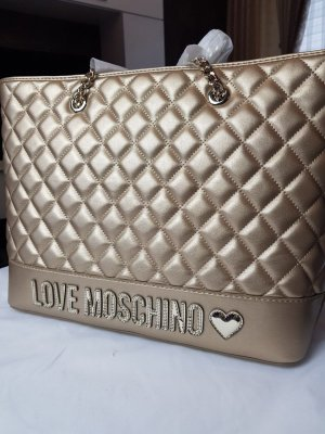 Love Moschino Shopper doré