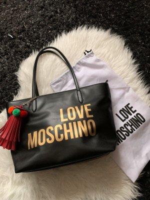 Love Moschino Shopper mit Tassel Anhänger