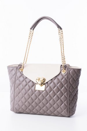 Love Moschino Carry Bag oatmeal-taupe polyurethane