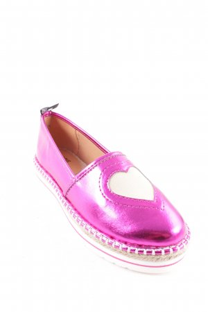 "Love Moschino Slippers ""Heart Espadrilles Fuxia 37"" pink"