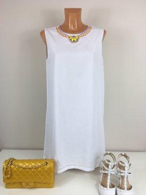 Love Moschino Sommerkleid Tunika Kleid Gr. S/36-38 weis