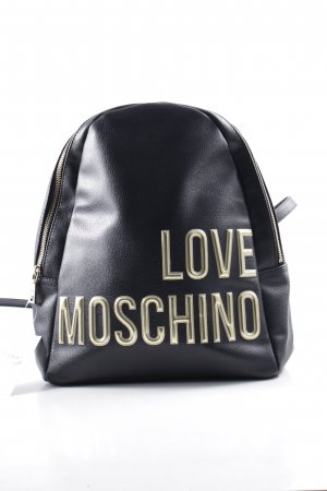 "Love Moschino Borsa sport ""Branded Backpack Black"""