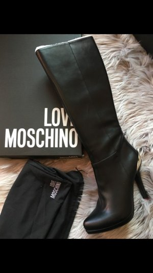 Love Moschino Botas de tacón alto negro