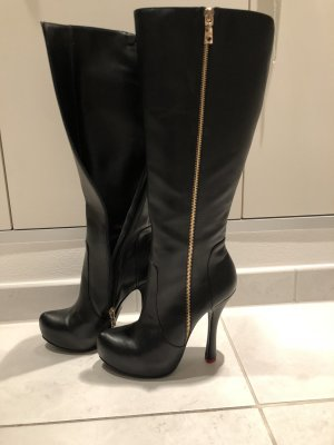 Love Moschino stiefel neuwertig gr 39 schwarz