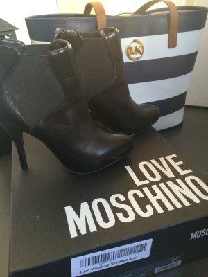 Love Moschino Stiefeletten schwarz Gr. 37 LETZTE REDUZIERUNG !