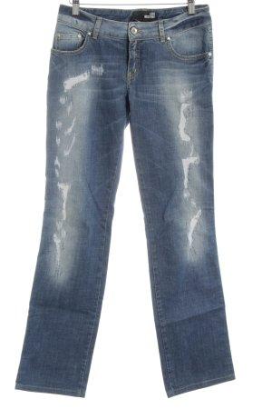 Love Moschino Straight-Leg Jeans blau Casual-Look