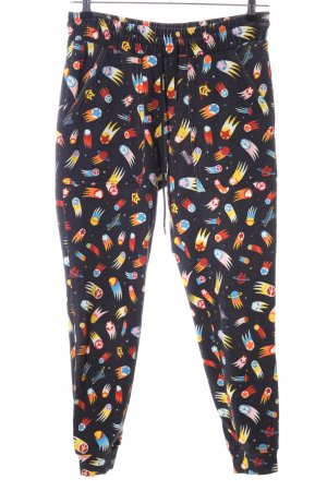 Love Moschino Sweathose abstraktes Muster Casual-Look
