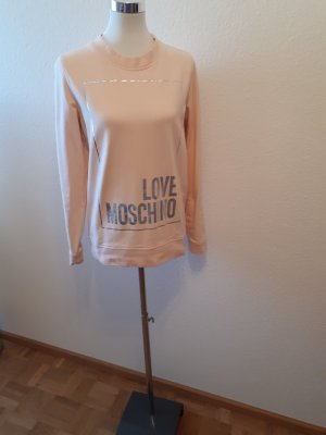 Love Moschino Sweatshirt lachs 40 L