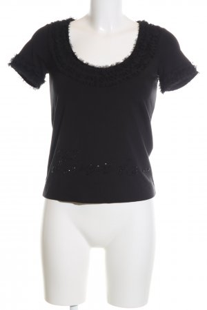 Love Moschino T-Shirt schwarz Casual-Look