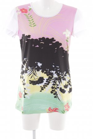 Love Moschino T-Shirt Blumenmuster Casual-Look