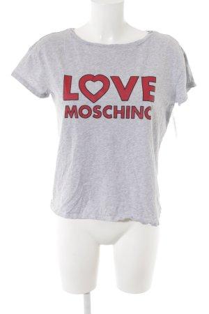 Love Moschino T-Shirt meliert Casual-Look
