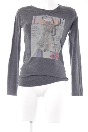Love Moschino T-Shirt Schriftzug gedruckt Casual-Look