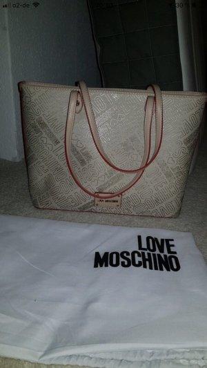 Love Moschino Bolso crema