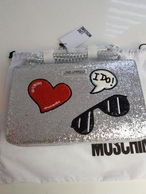 Love Moschino Borsa a spalla argento