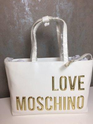 Love Moschino Borsa shopper bianco
