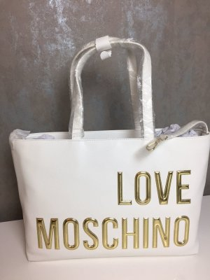 love moschino shopper g nstig kaufen second hand m dchenflohmarkt. Black Bedroom Furniture Sets. Home Design Ideas