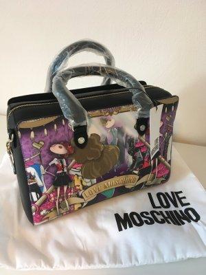 Love moschino Tasche neu Blogger Fashion bunt Handtasche schwarz clutch