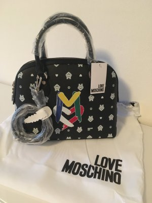 Love moschino Tasche shopper Handtasche neu schwarz clutch bag Fashion Designer