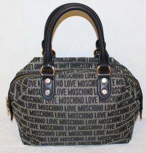 Love Moschino Borsetta nero-grigio Pelle