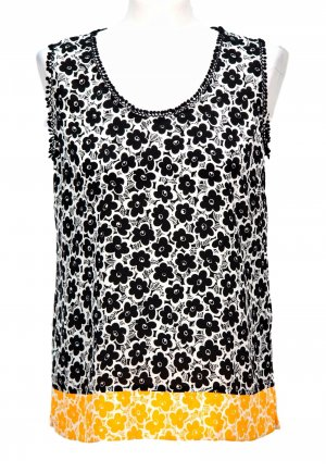Love Moschino Top mit Muster