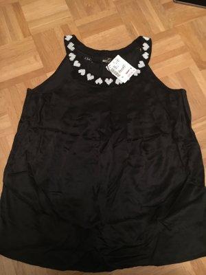 Love Moschino Top, schwarz Gr. 40