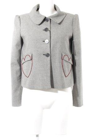 Love Moschino Tweed blazer Herzmuster zakelijke stijl