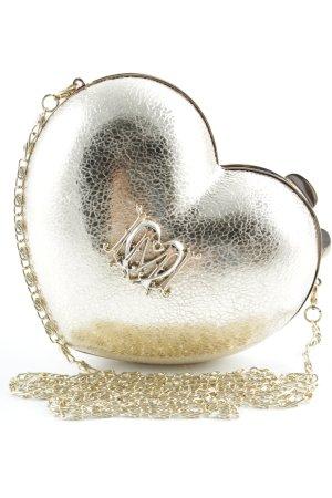Love Moschino Umhängetasche goldfarben extravaganter Stil