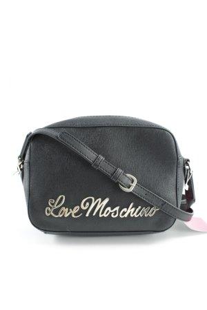 """Love Moschino Umhängetasche """"Letter Crossbody Bag Nero"""" schwarz"""