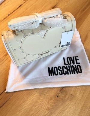 Love Moschino Umhängetasche off white