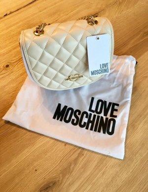 Love Moschino Sac bandoulière crème