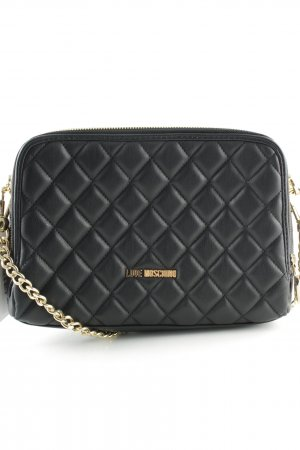 "Love Moschino Borsa a spalla ""Quilted Chain Bag Black"""