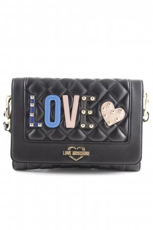 "Love Moschino Crossbody bag ""Quilted Love Clutch Black"""