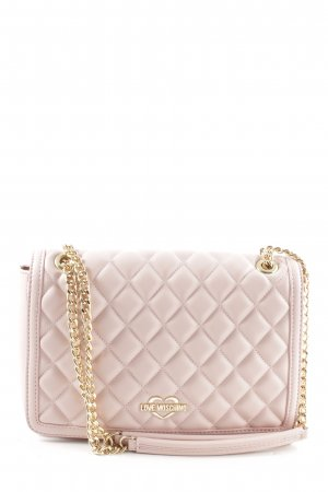 "Love Moschino Umhängetasche ""Quilted Nappa Chain Crossbody Bag Rosa"" rosé"