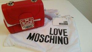 Love Moschino Umhängetasche Rot