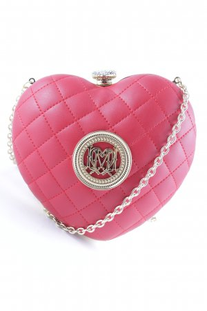 Love Moschino Crossbody bag red-gold-colored extravagant style