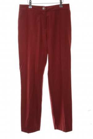 Love Moschino Woolen Trousers red casual look
