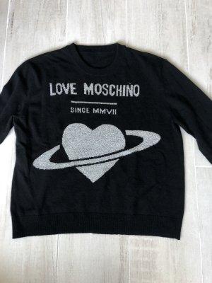 Love Moschino Jersey de lana negro