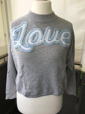 Love Pullover mit Rollkragen