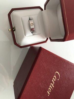Cartier Bague en argent argenté
