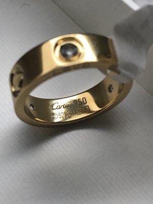 Love Ring mit Schrauben und Steinen