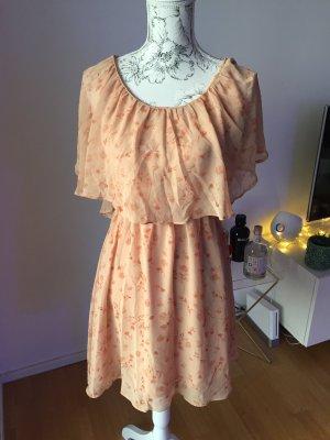 Love21 Kleid Apricot Gr M/L