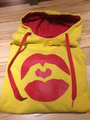 Love Jersey con capucha amarillo-rojo