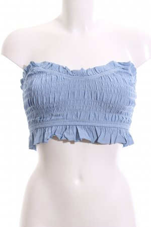 Lovers + friends Cropped Top azure romantic style