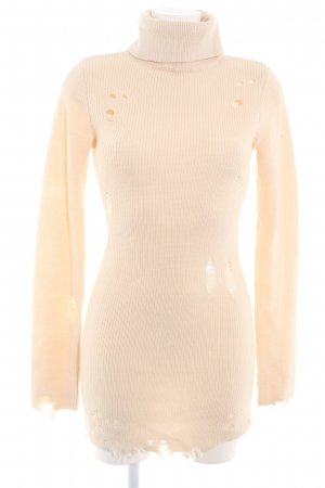 Lovers + friends Rollkragenpullover creme Casual-Look